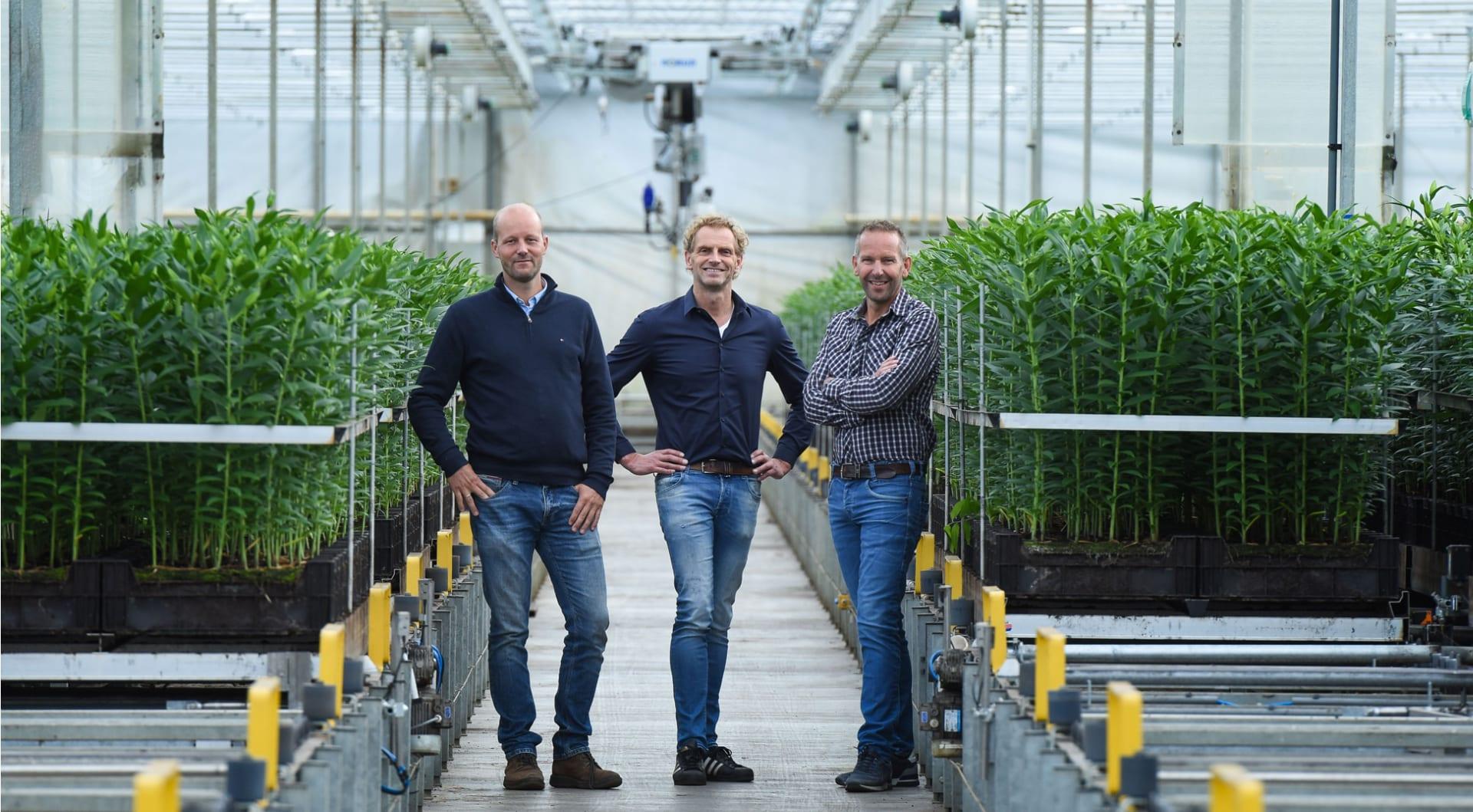 Van links naar rechts: Klaas Wagenaar, Wim-Jan Paauw en André Imanse.